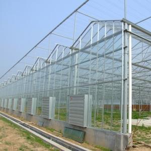 玻璃温室大棚施工