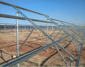 温室骨架建造